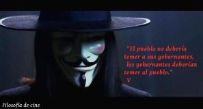 filosofíaparacinéfilos. V de Vendetta