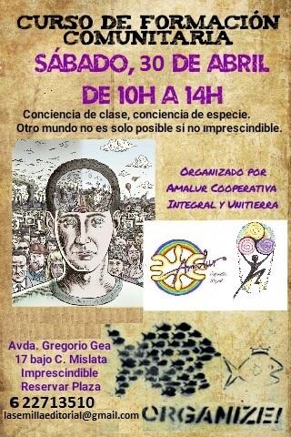 CURSO DE FORMACIÓN COMUNITARIA